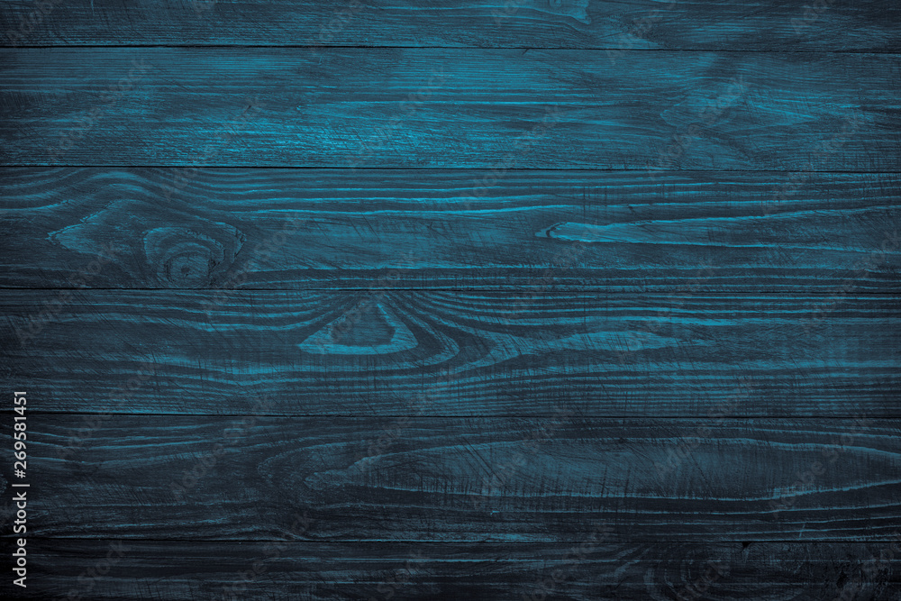 Fototapety, obrazy: Wooden background, Dark wooden texture.