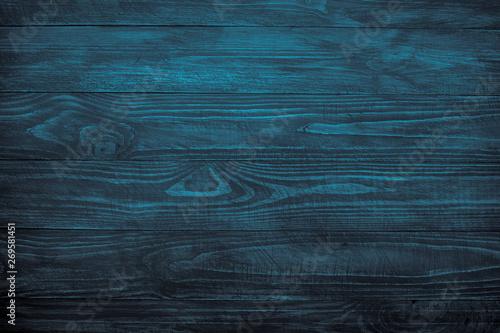 Valokuva  Wooden background, Dark wooden texture.