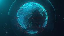 World Map Data Technology