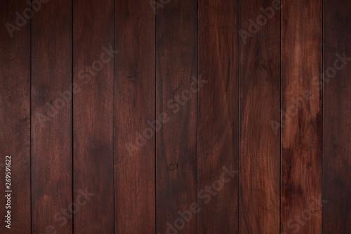Fototapeta Flat empty wooden surface obraz na płótnie