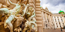 Hofburg Palace And Ancient Scu...