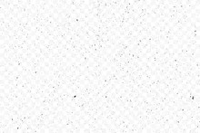 Old Grunge Black Texture. Dark Weathered Overlay Pattern Sample On Transparent Background. Screen Background. Vector.