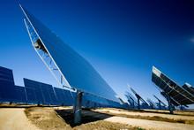 Modern Solar Panels Installed ...
