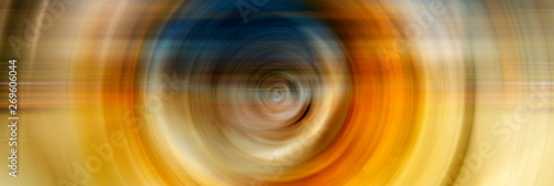 Foto auf AluDibond Spirale Abstract Background Of colorful Spin Circle Radial Motion Blur. Background for modern graphic design and text.