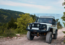 Jeeps In The Mountains By The ...