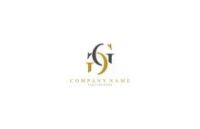 Unique Minimal Elegant GG Logo
