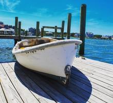 Boat At The Dock On Ocracoke I...