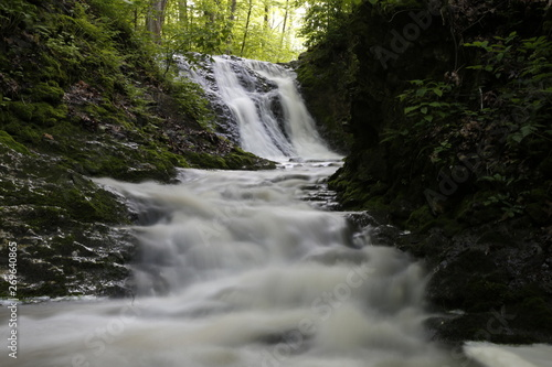 Waterfall at the Salamonie State Park