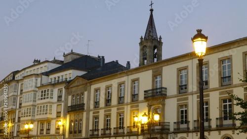 Lugo , historical city of Galicia.Spain