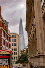 London Streets Overlooking The Tower Of Shards