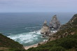 Praia da ursa or Ursa Beach. Near the Cabo da Roca. The westernmost extent of mainland Portugal, continental Europe and the Eurasian land mass. Sintra-Cascais Natural Park.