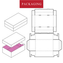 Vector Illustration Of Box.Pac...