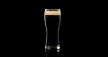 Dark Craft Beer Brewed From Na...