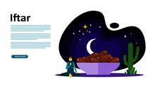 Ramadan Mubarak Greeting Conce...