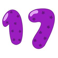 Seventeen Clipart
