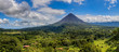 canvas print picture Arenal Volcano panorama