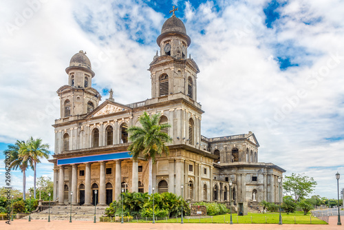 View at the Old Santiago Cathedral of Managua in Nicaragua - 269672023