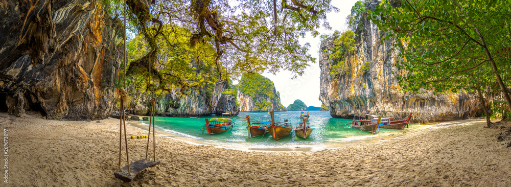 Fototapety, obrazy: Blue water at  Lao Lading island, Krabi Province, Thailand