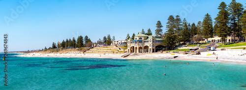 Stampa su Tela Beach in Perth city
