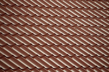 Red  Tiles That Cover The Roof