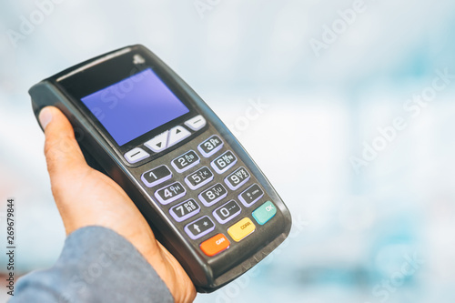 Cuadros en Lienzo Payment terminal ready to charge