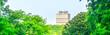 Leinwanddruck Bild - View from forest to city Nijmegen