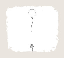 Hand Loose Balloon For Hand Dr...