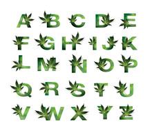 Font Design A B C  Medical Mar...