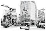 TOKIO, słynne skrzyżowanie Shibuya - 269692244