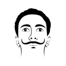 Illustration Of Salvador Dali ...