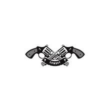 Cowboy Logo Design Vector Temp...