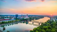 Augusta, Georgia, USA Aerial