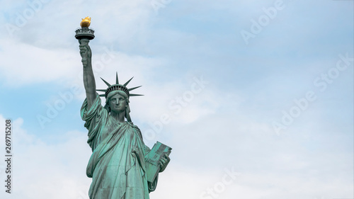 USA, New York - May 2019: Statue of Liberty, Liberty Island Tablou Canvas