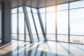 Fototapeta Do biura Clean empty office interior