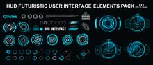 Sci-fi Futuristic Hud Dashboard Display Virtual Reality Technology Screen