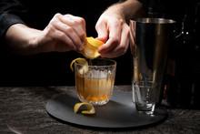 In Bar - Lavender Collins Cocktail