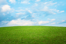 Beautiful Simple Hill Landscap...