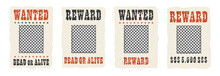 Wanted Dead Or Alive Frame Wit...