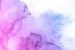 Leinwandbild Motiv abstract watercolor background