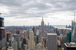 USA. New York. May 2019: View from the top.American aerial landscape with usa. Manhattan - New York City Aerial view. Midtown manhattan. Panoramic view. City financial district. New York skyline - USA
