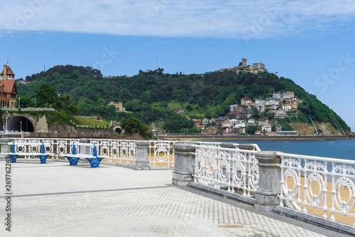Photographie Promenade of Donostia-San Sebastian, Basque Country, Spain