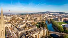 Aerial View Of Bath, England