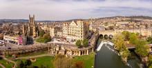 Aerial View Of Bath Abbey, England
