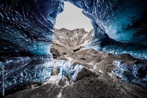 Cuadros en Lienzo Katla ice cave magical Iceland