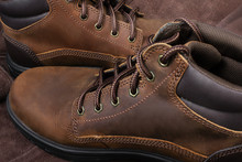 Leather Working And Travelling Boots.