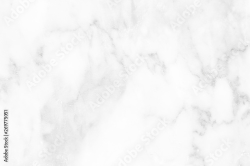 Fototapeta White black marble surface for do ceramic counter white light texture tile gray silver background marble natural for interior decoration and outside. obraz na płótnie