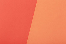Two-tone Paper Red And Orange ...