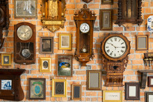 Collection Of Vintage Clock Ha...