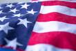 Leinwanddruck Bild - National Day Celebration USA flag american 2018 free background