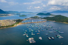 Top View Of Hong Kong Tolo Harbour